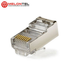 चीन MT-5053B RJ45 Modular Plug CAT.5E Cat.6 8P8C STP Network Patch Cord Plug With Gold Plated फैक्टरी